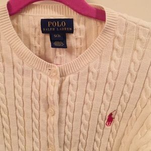 Polo by Ralph Lauren Shirts & Tops - Polo Ralph Lauren Cream Cardigan